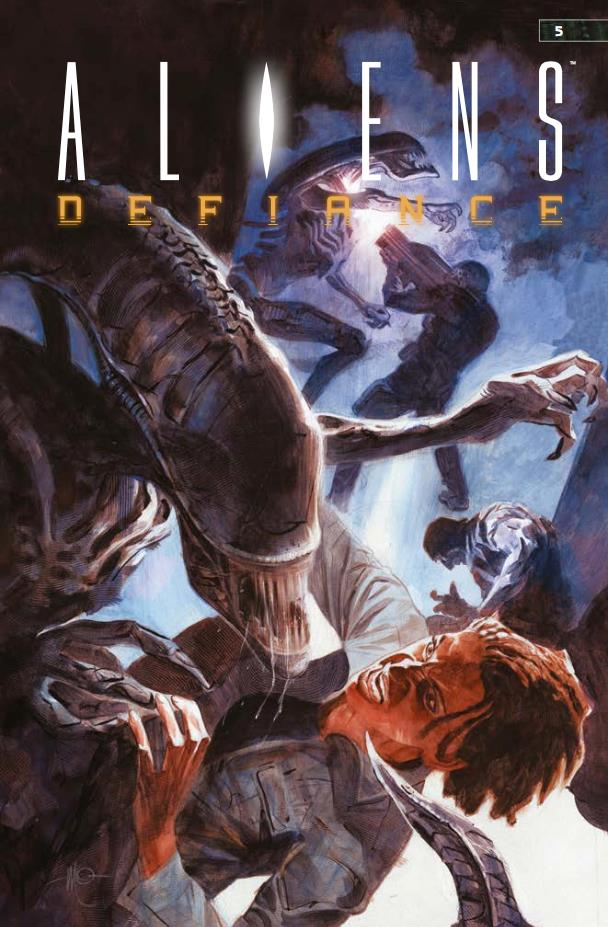 Aliens Vol. 3, copertina di Massimo Carnevale