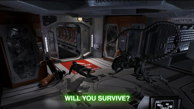 Un'immagine da Alien: Blackout
