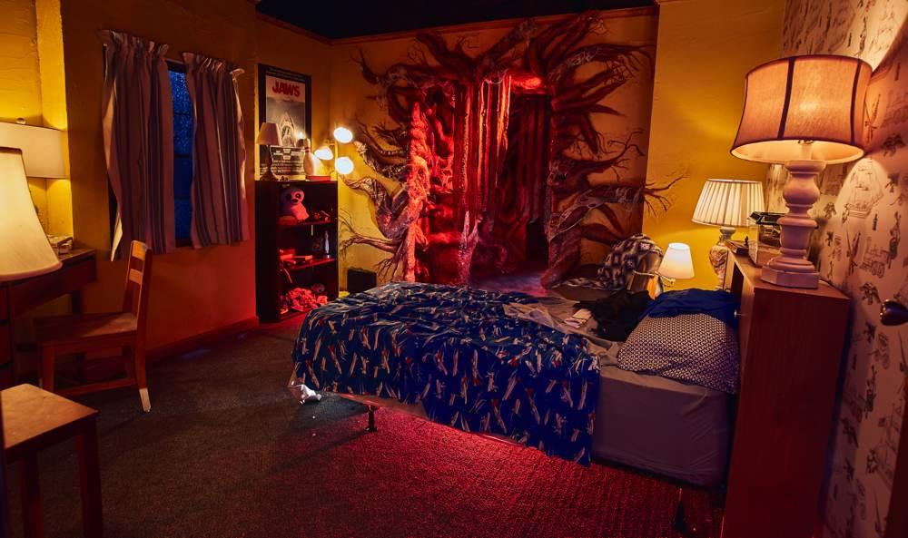 La casa infestata di Stranger Things: la ricostruzione della camera di Will Byers