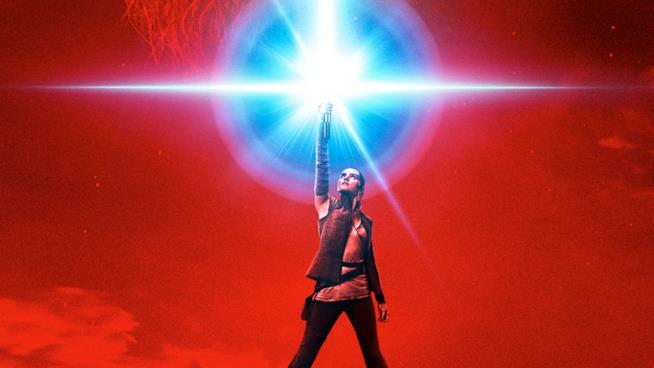 Star Wars, promo art con Rey