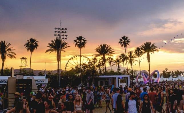 Un'immagine del Coachella 2016