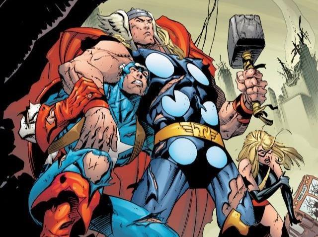 Dettaglio della cover di Avengers Assemble Vol. 5