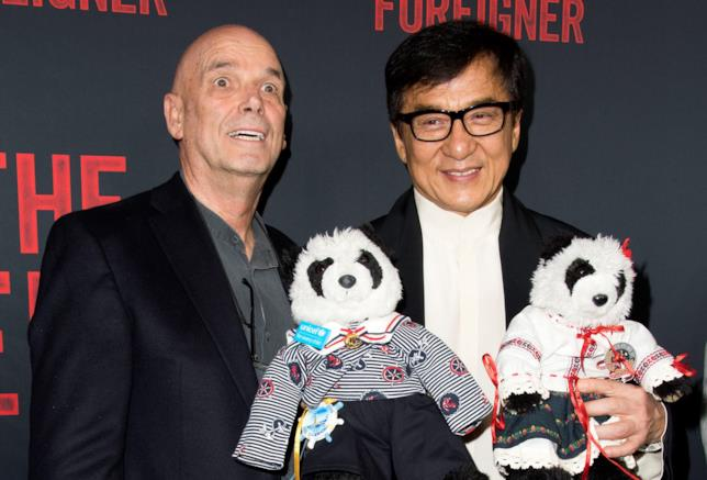 Il regista Martin Campbell e Jackie Chan