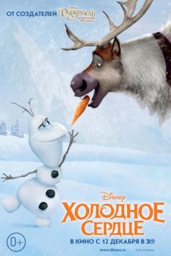 Sven ruba il naso a Olaf nel teaser poster Russo di Frozen