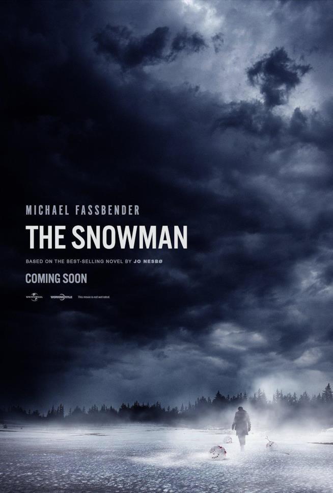 La locandina originale del film L'Uomo di Neve
