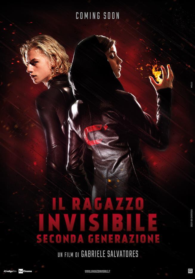Il poster de Il Ragazzo Invisibile - Seconda Generazione