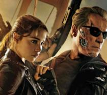 Una scena di Terminator: Genisys