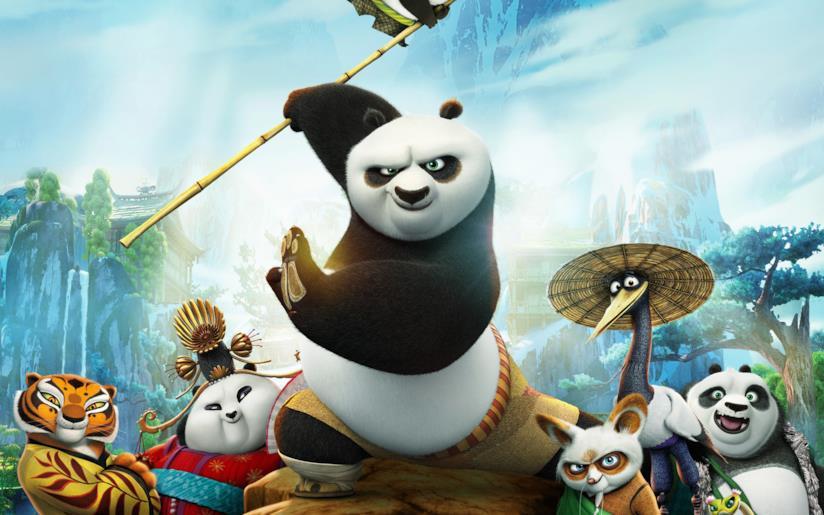 I personaggi di Kung Fu Panda 3