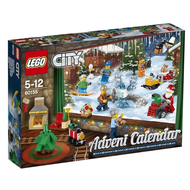 Il calendario dell'avvento di LEGO City