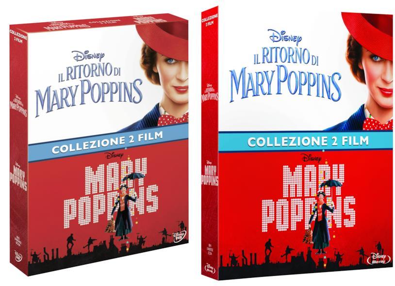 cofanetti DVD e Blu-ray di Mary Poppins