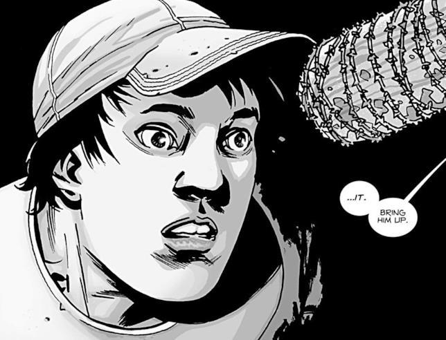Il personaggio di Glenn nei fumetti