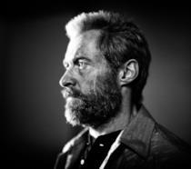 Hugh Jackman nel ruolo di un vecchio Logan in Wolverine 3