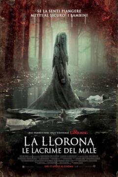 La Llorona nel secondo poster italiano del film