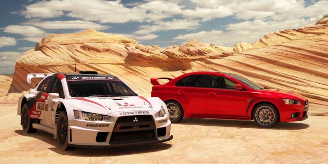 Due bolidi da GT Sport