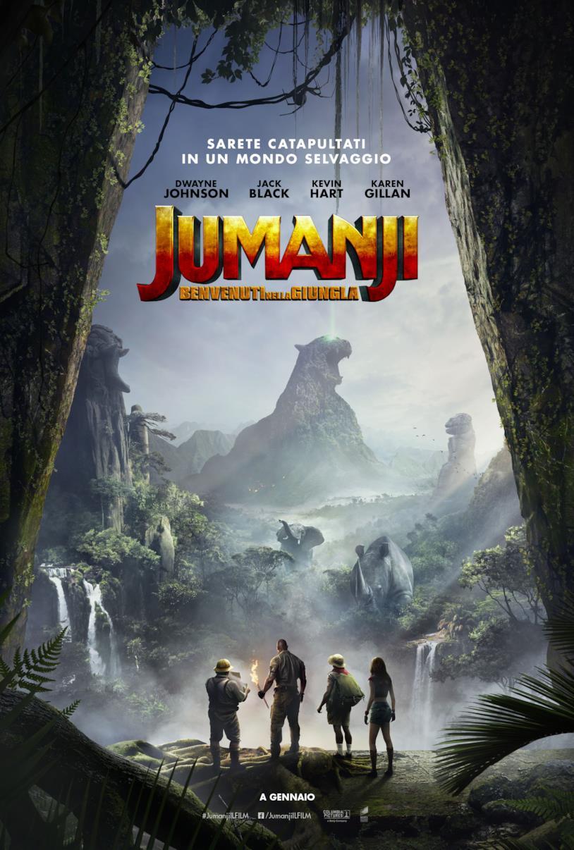 Jumanji 2 arriverà a gennaio in Italia