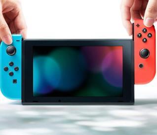 Un'immagine promozionale di Nintendo Switch