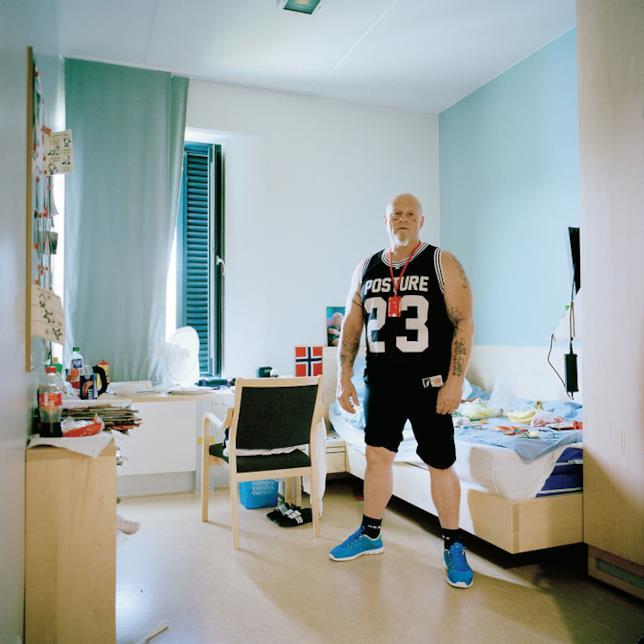 Un detenuto dell'Halden Prison, Halden, Norvegia