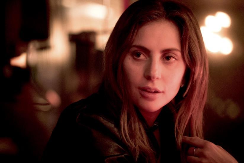 Lady Gaga in una scena di A Star is Born