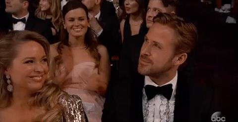 Ryan Gosling con sua sorella agli Oscar 2017