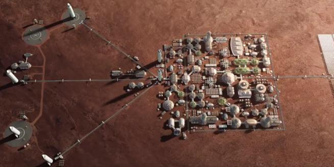 La compagni di Musk, Space X