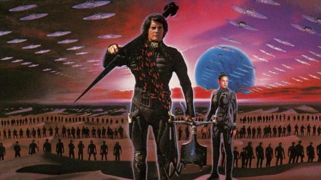 Una concept art sul film Dune