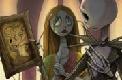 I protagonisti del sequel a fumetti di Nightmare Before Christmas