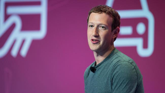 Mark Zuckerberg parla a un evento ufficiale