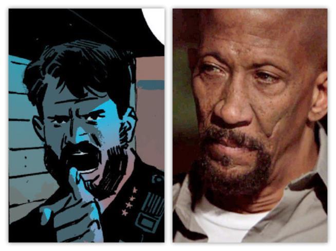 Il capo Giles fra fumetto e serie TV