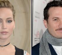 Un collage che riunisce Jennifer Lawrence e Darren Aronofsky