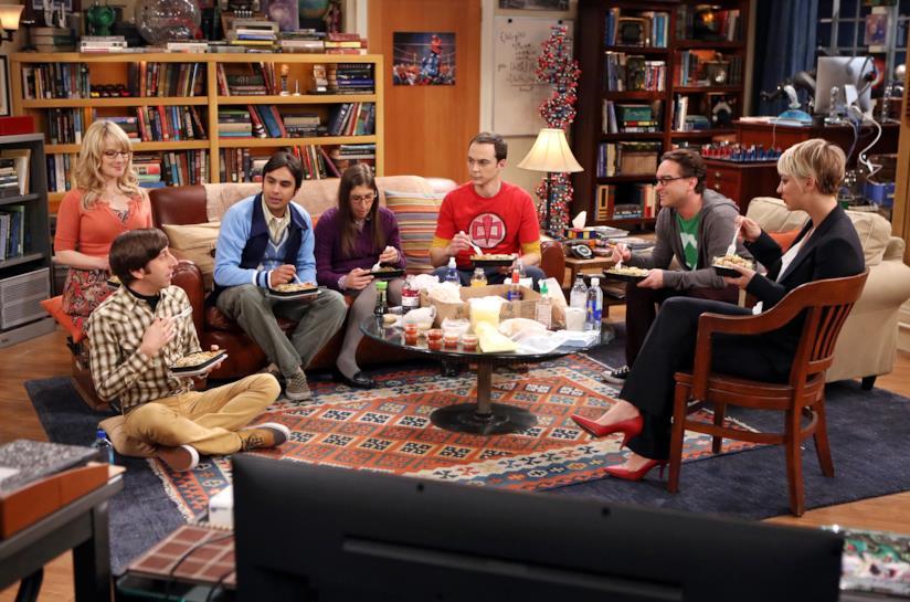 Una delle location ricorrenti di Big Bang Theory
