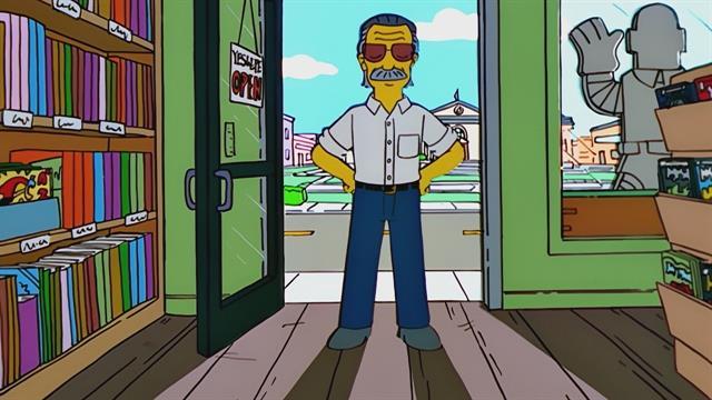 I Simpson Stan Lee