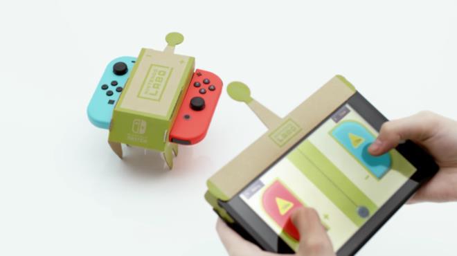 Un esempio di cosa si può costruire con Nintendo Labo per la console Switch