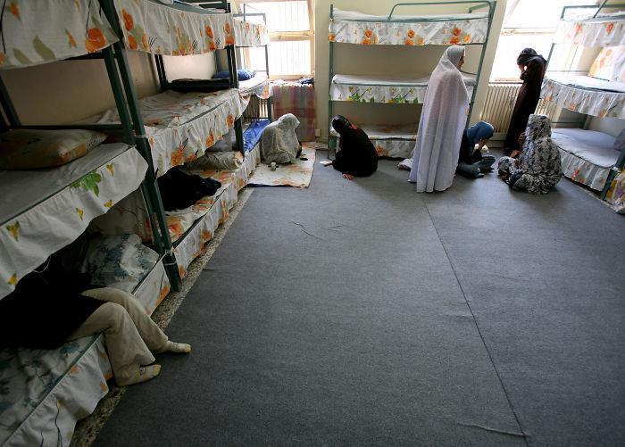 L'interno dell'Evin Prison, Tehran, Iran