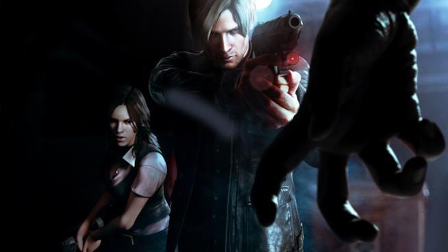 Leon in azione in Resident Evil 6
