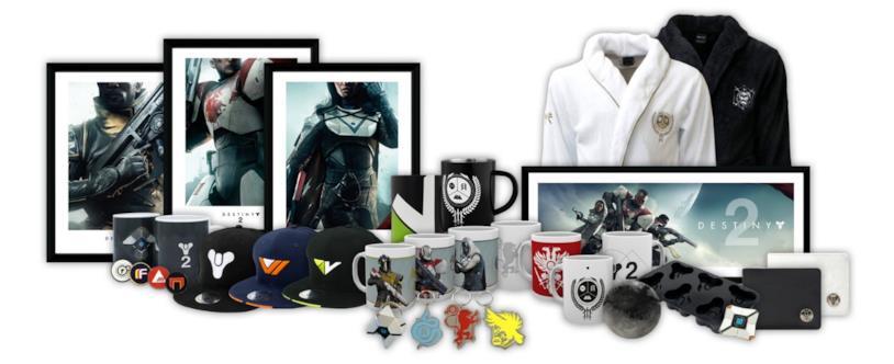 PlayStation Gear accoglie i gadget di Destiny 2