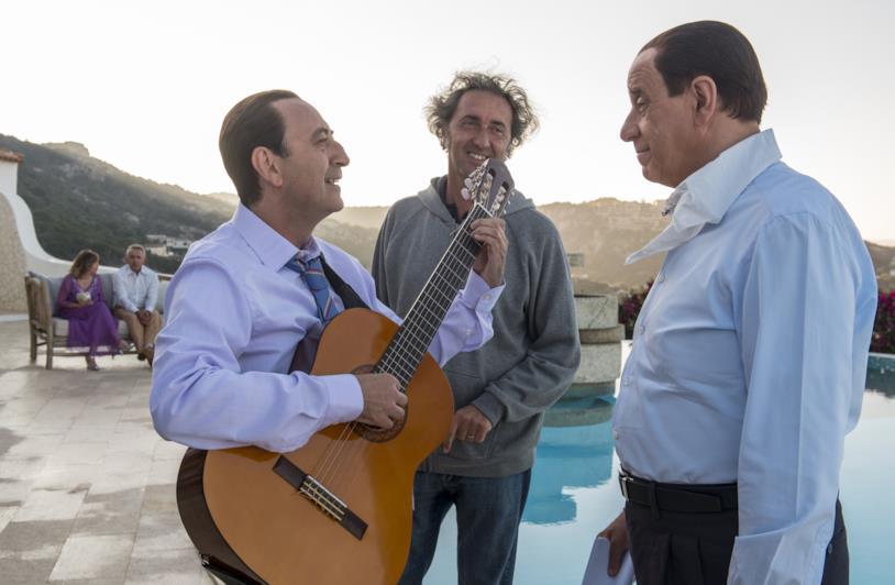 Apicella canta per Silvio Berlusconi