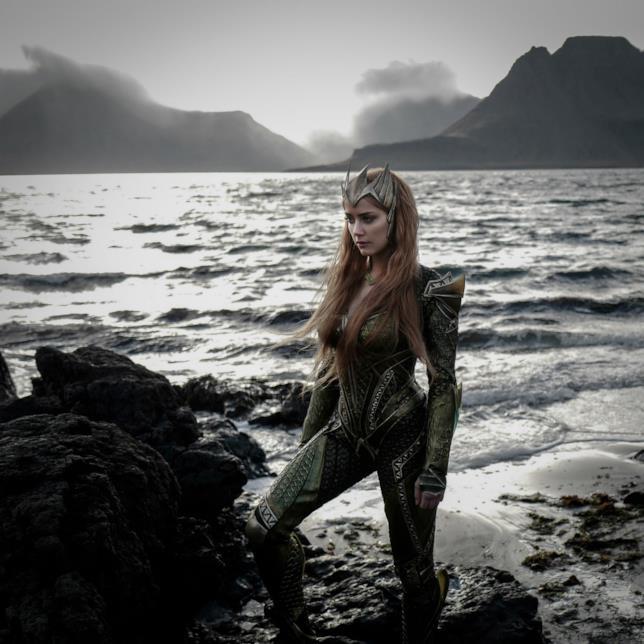 Amber Heard è Mera in Justice League
