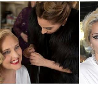Lady Gaga con la sua amica Sonja