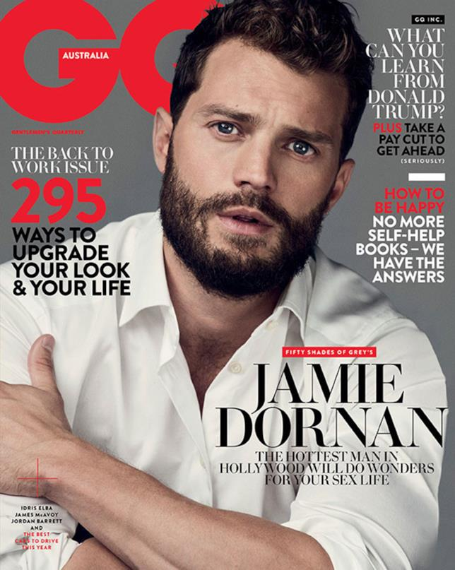 Jamie Dornan in copertina su GQ Australia