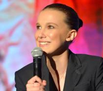 Millie Bobby Brown a un evento dedicato a Stranger Things