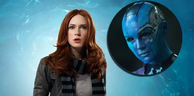 Karen Gillan è Nebula nei film del MCU