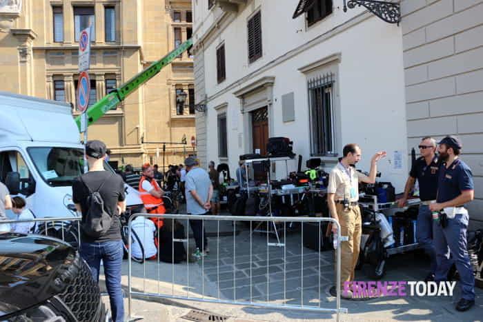 Six Underground: set allestito nei pressi di Corso dei Tintori