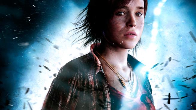 Ellen Page in Beyond: Due Anime