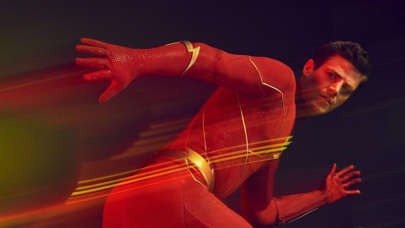 The Flash mentre corre