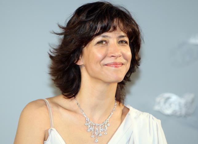 L'attrice francese Sophie Marceau