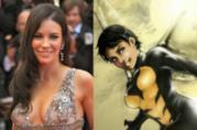 L'attrice Evangeline Lilly e Wasp (Janet van Dyne)