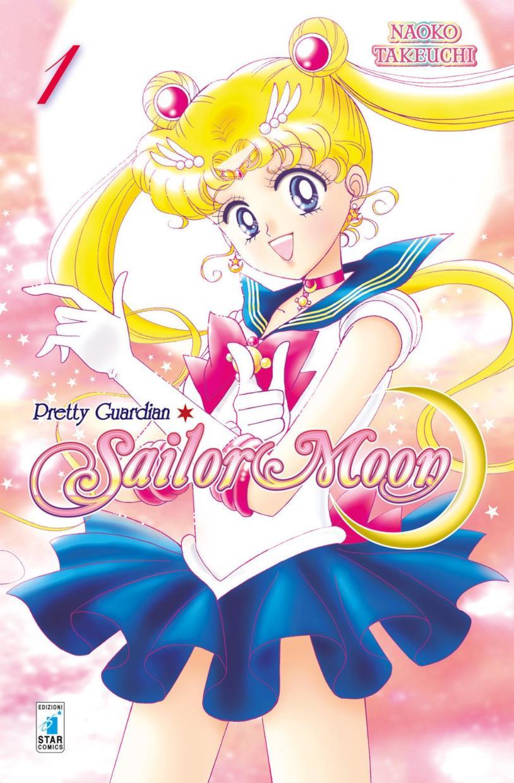 La copertina di Sailor Moon 1