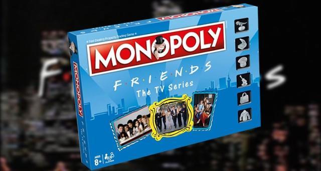 Il box del nuovo Monopoly a tema Friends