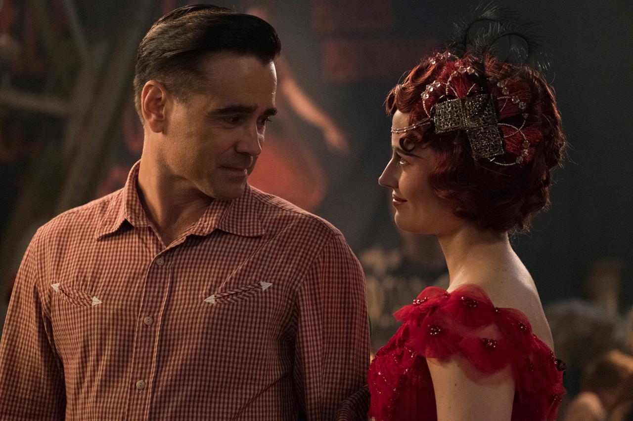 Holt Farrier e Colette Marchant in una scena di Dumbo