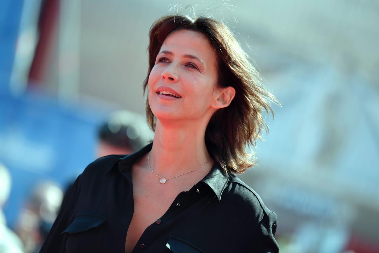Sophie Marceau alla cerimonia per il Leone d'Oro a  Jean-Paul Belmondo a Venezia 73